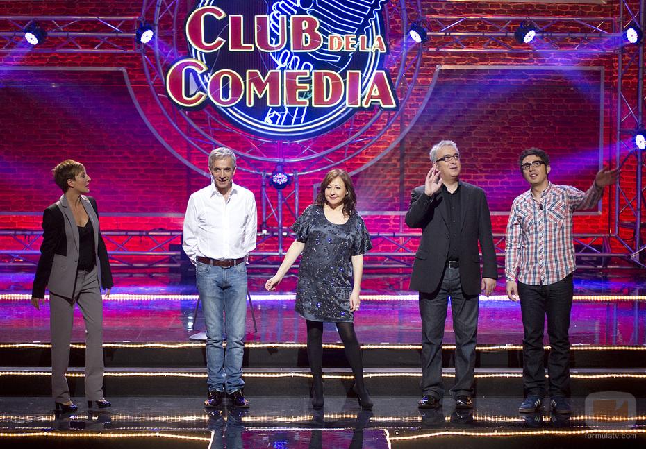 Eva Hace y los invitados de El Club de la Comedia en la Sexta
