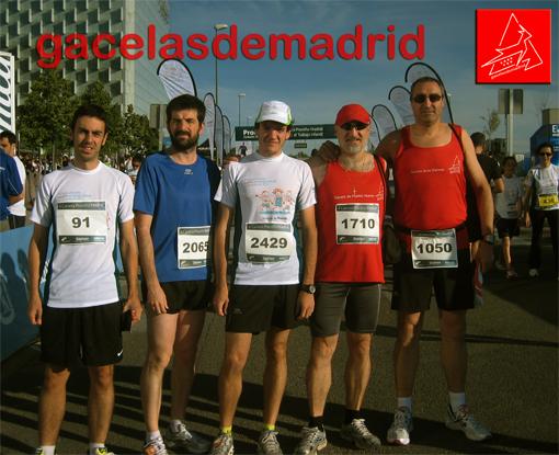 Gacelas de Madrid en II Carrera Proniño