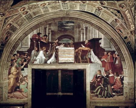 Milagro de Bolsena por Raffaello (Vaticano)