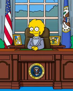 Lisa Simpson Presidenta