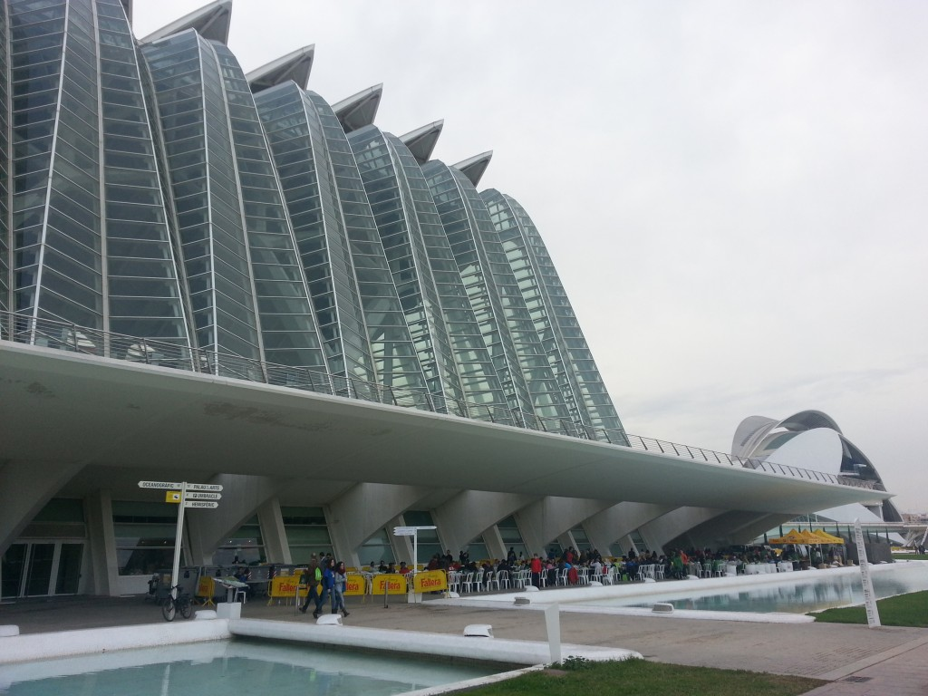 Maratn Valencia 2012: Paella en la Ciudad de las Artes y las Ciencias