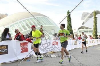 Llegada Maratón Valencia 2012