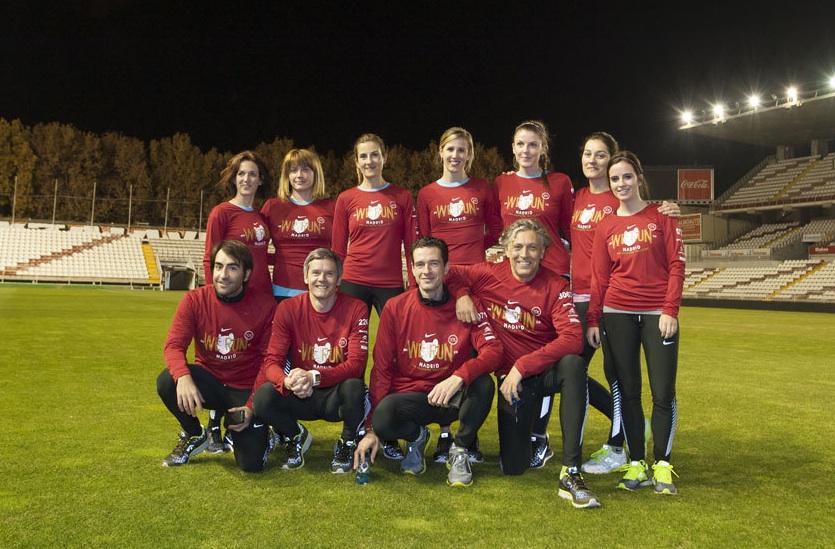 Presentación Camiseta San Silvestre Vallecana 2013